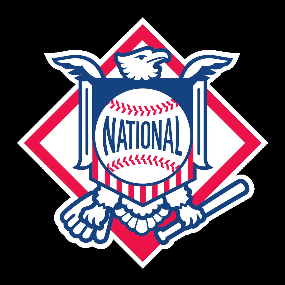 MLB National League transparent logo