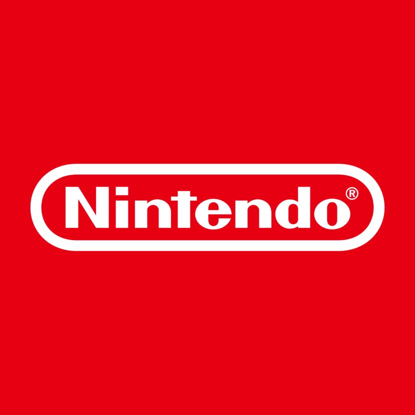 Nintendo logo red background