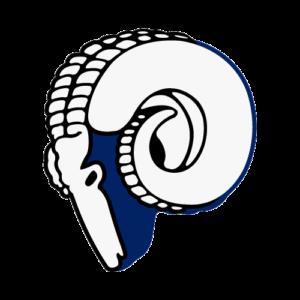 Cleveland Rams / Los Angeles Rams 1946-1950 logo