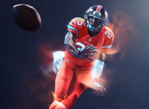 Denver Broncos Color Rush Jersey