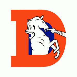 Denver Broncos 1970-1992 logo