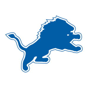 Detroit Lions 1970-2002 logo