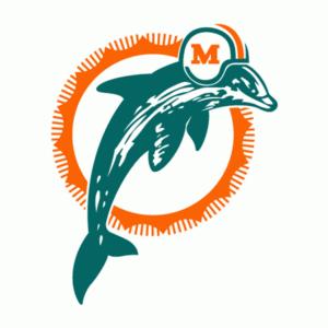 Miami Dolphins 1989-1996 logo