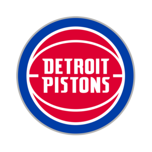 Detroit Pistons Transparent Team Logo
