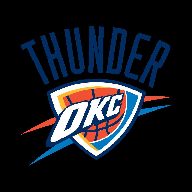Oklahoma City Thunder Transparent Team Logo
