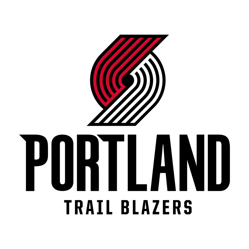 Portland Trail Blazers Transparent Team Logo