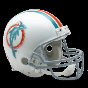 Miami Dolphins Helmet 1973-1979