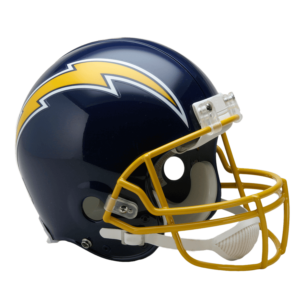 San Diego Chargers Throwback Helmet 1974-1987