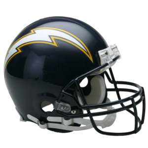 San Diego Chargers Throwback Helmet 1988-2006