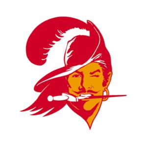 Tampa Bay Buccaneers 1976-1996 logo